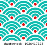 abstract pattern for swatch ... | Shutterstock .eps vector #1026417325