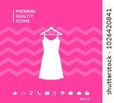 sundress  evening dress ... | Shutterstock .eps vector #1026420841