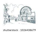 Park Amusement Vector Sketch...