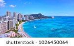 panoramic view of hawaii's... | Shutterstock . vector #1026450064