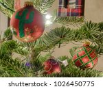 christmas ornaments are...   Shutterstock . vector #1026450775