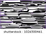 random chaotic lines abstract... | Shutterstock .eps vector #1026500461