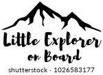 mountain explorer decal   Shutterstock .eps vector #1026583177