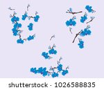 abstract orchid pattern. gentle ... | Shutterstock .eps vector #1026588835
