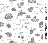 seamless pattern with foods...   Shutterstock .eps vector #1026591514