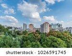 east shui guan ruins park | Shutterstock . vector #1026591745