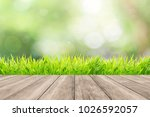 natural green background with... | Shutterstock . vector #1026592057