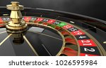 Casino Roulette Black Wheel...