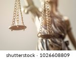 justice lady close up view | Shutterstock . vector #1026608809