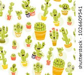 vector seamless pattern with...   Shutterstock .eps vector #1026609541
