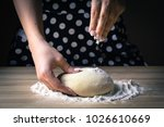 an experienced chef in a... | Shutterstock . vector #1026610669