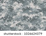 camouflage seamless pattern.... | Shutterstock .eps vector #1026624379