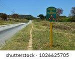 Street Sign In Cuba