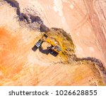 aerial view of a working... | Shutterstock . vector #1026628855