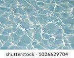 texture of water in swimming... | Shutterstock . vector #1026629704