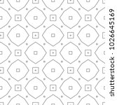 seamless vector pattern in... | Shutterstock .eps vector #1026645169