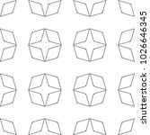 seamless ornamental vector... | Shutterstock .eps vector #1026646345
