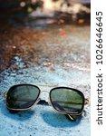 sunglasses eyewear photography | Shutterstock . vector #1026646645