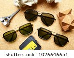 sunglasses eyewear photography | Shutterstock . vector #1026646651