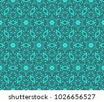 seamless pattern. geometry... | Shutterstock .eps vector #1026656527
