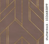 seamless geometric pattern on... | Shutterstock . vector #1026683899