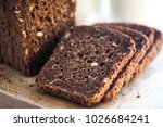 whole wheat bread with seeds... | Shutterstock . vector #1026684241