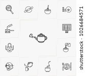 cooking line icon set | Shutterstock .eps vector #1026684571