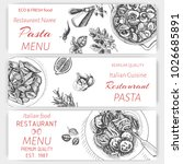 banner menu of an italian... | Shutterstock .eps vector #1026685891