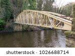 the jubilee bridge in matlock... | Shutterstock . vector #1026688714