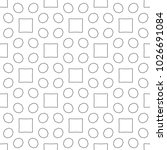 seamless ornamental geometric... | Shutterstock .eps vector #1026691084