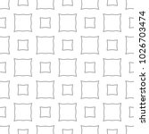 seamless geometric ornamental... | Shutterstock .eps vector #1026703474