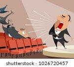 vector illustration of an opera ...   Shutterstock .eps vector #1026720457