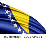bosnia and herzegovina   flag... | Shutterstock . vector #1026724171