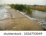 water falls at rural area | Shutterstock . vector #1026753049