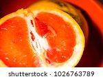 juicy bright grapefruit   Shutterstock . vector #1026763789