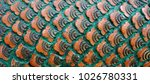 beautiful pattern and texture... | Shutterstock . vector #1026780331