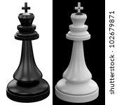 chess kings | Shutterstock . vector #102679871