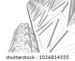 architecture vector illustration | Shutterstock .eps vector #1026814555