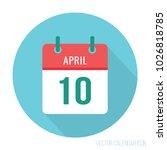 april 10 ten. national siblings ... | Shutterstock .eps vector #1026818785