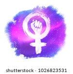 vector illustration of women... | Shutterstock .eps vector #1026823531