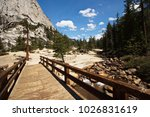 Wooden Bridge At The Top Of...