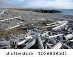 arctic  barents sea  island ... | Shutterstock . vector #1026838501