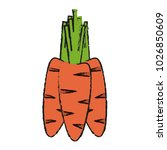 carrots vegetable icon image | Shutterstock .eps vector #1026850609