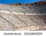 assos antique amphitheatre.... | Shutterstock . vector #1026860209