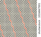 seamless abstract striped... | Shutterstock .eps vector #1026867001