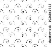 abstract black and white... | Shutterstock . vector #1026869935