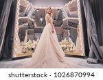 exited about her wedding.  full ... | Shutterstock . vector #1026870994