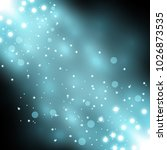 glittering particles background ... | Shutterstock .eps vector #1026873535