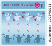 polar bear sailors signals... | Shutterstock .eps vector #1026900151