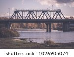 diminishing perspective of... | Shutterstock . vector #1026905074